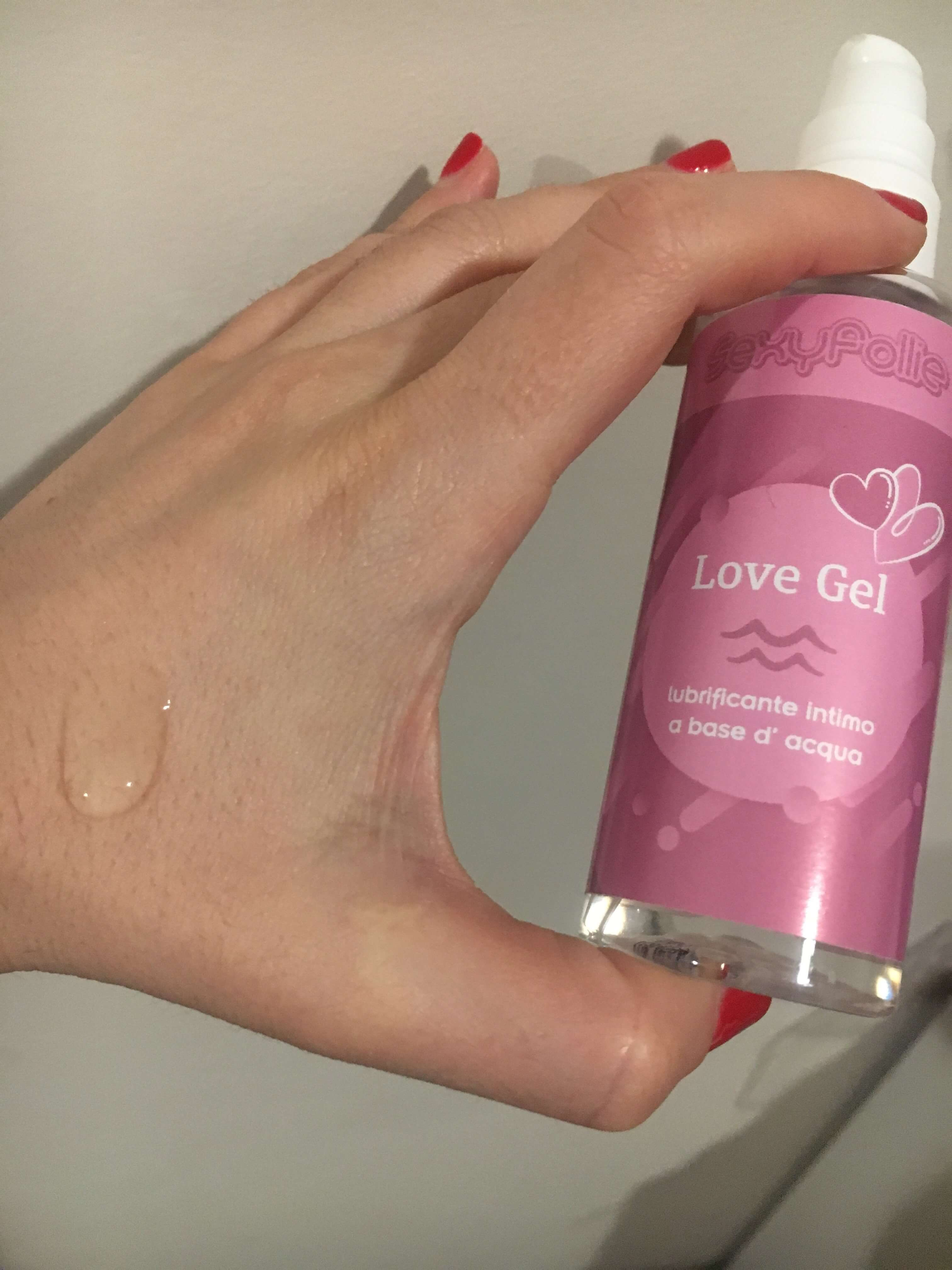 Gel Lubrificante intimo Love Gel Sexyfollie