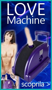 Sexmachine Love machine su Sexyfollie.it Sexyshop
