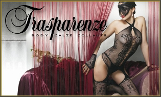 Trasparenze calze e collant Made in Italy su Sexyfollie.it