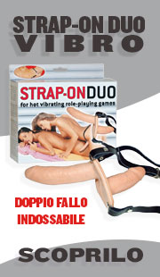 Doppio fallo indossabile - Strap-On Duo Vibro
