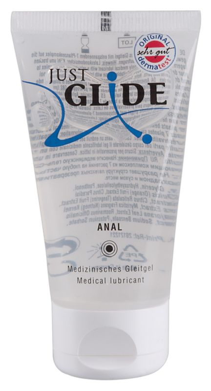Just Glide ANAL - Lubrificante intimo medicale anale