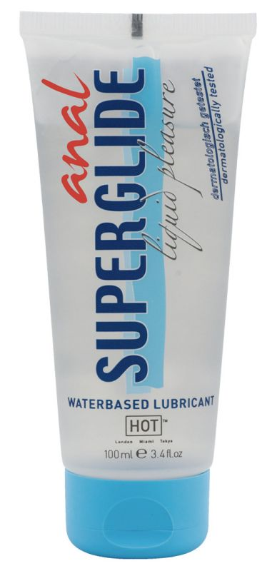 Anal Superglide - Lubrificante medicale anale a base d'acqua 100 ml